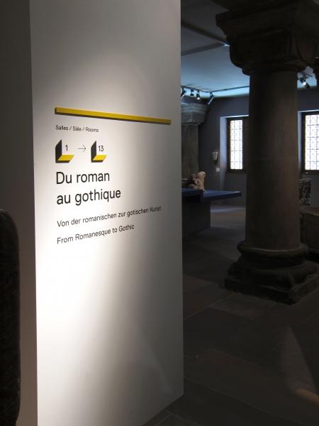 V8designers musée de l'Œuvre Notre-Dame - musée de l'œuvre notre-dame, sections