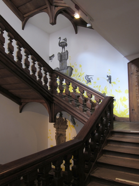 V8designers musée de l'Œuvre Notre-Dame - musée de l'œuvre notre-dame, escalier