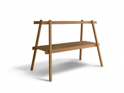 V8designers massif - table bureau en bois massif