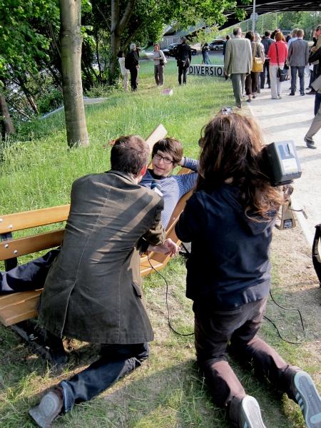 V8designers banc public - banc public, cneai de chatou, ile des impressionnistes 2011
