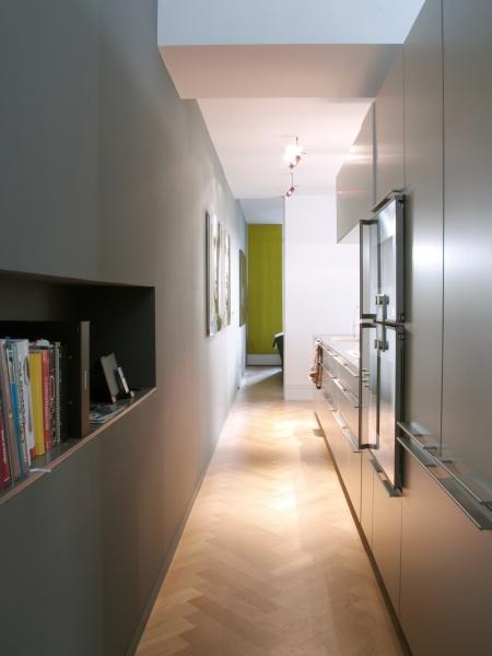 V8designers le 11 - l'ancien couloir de service devient la zone technique de la cuisine